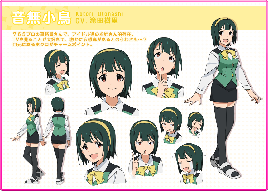 Idol M Ster Anime Characters : The idolm ster �