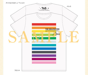 Tシャツ(IDOL COLORS) (M、L)